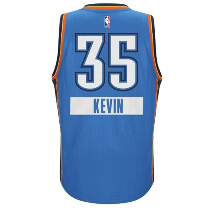 PHOTO: Thunder Christmas Day jersey released, to have first names ...